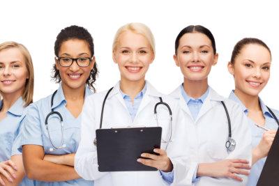 group of medical staffs